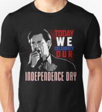 Präsident (Unabhängigkeitstag) Slim Fit T-Shirt