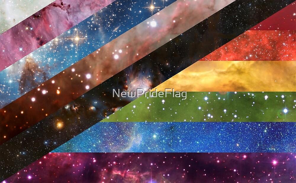 New Pride Flag Designs - Galaxy Edition  by NewPrideFlag