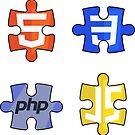 «Puzzle html5 css3 javascript php» de yourgeekside