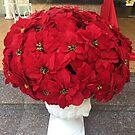 Poinsettia in a Pot by TeAnne