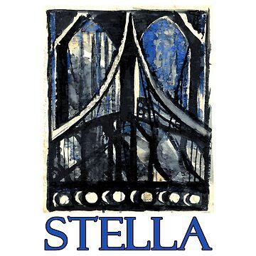 Brooklyn Bridge by Joseph Stella by Chunga
