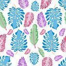 Trendy Tropical Pattern by stylebytara