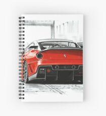 Ferrari 599GTB XX Spiral Notebook