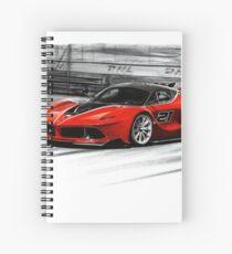 La Ferrari FXX-K Spiral Notebook
