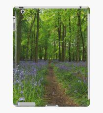 The bluebell way iPad Case/Skin