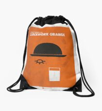 Clockwork Orange Film Poster Drawstring Bag