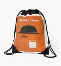 Clockwork Orange Film Poster Drawstring Bag