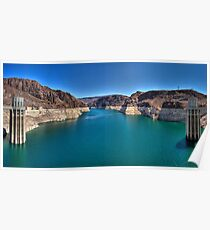 Hoover Dam --  Lake Mead Poster