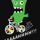 Critter Bike - dark by Andi Bird