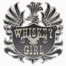 Whiskey Girl Shield by bunnyboiler