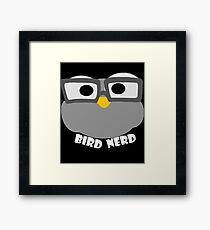 Funny Birds Early Bird Dickybird Gift Saying Framed Print