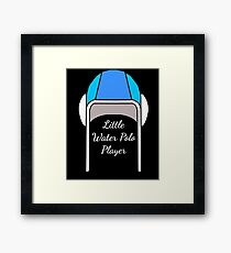 Water polo gift for water polo players Framed Print
