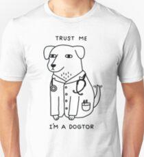 Trust Me I'm A Dogtor Slim Fit T-Shirt
