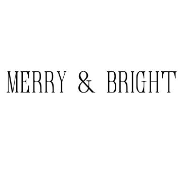 Merry and Bright by dotandink