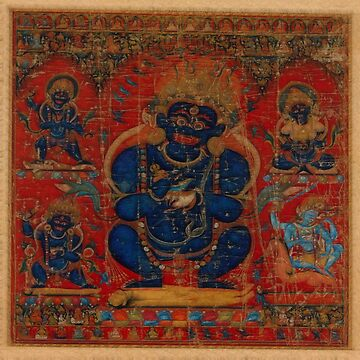 Mahakala as Lord of the Tent by LuciaS