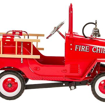 Red Fire Engine by procrest