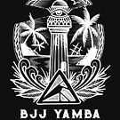 BJJ Yamba Tattoo Logo - White by bjjyamba