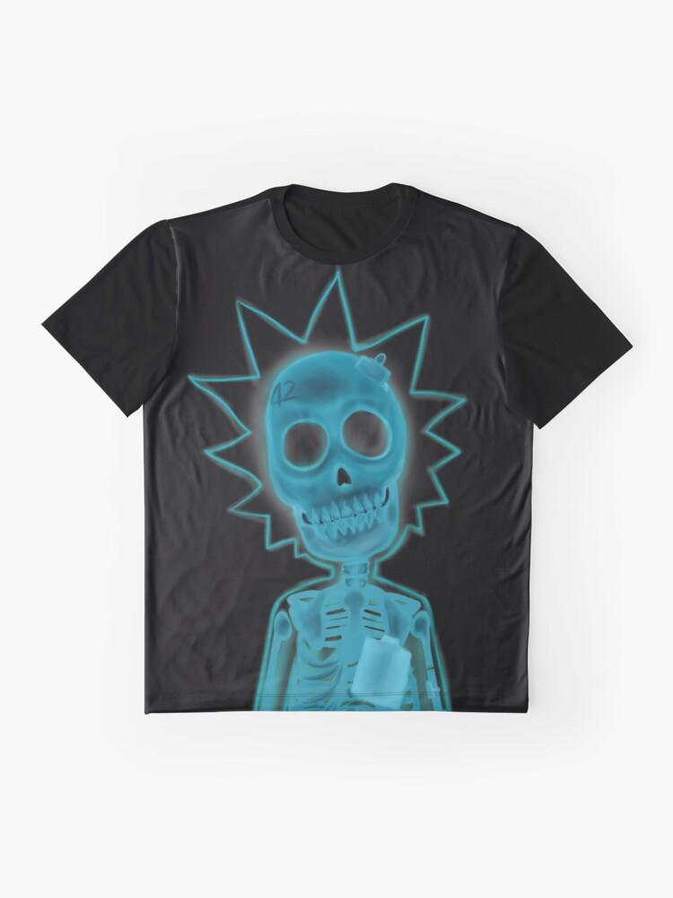 df0b1e5e2742a Vista alternativa de Camiseta gráfica Raya de rayos x