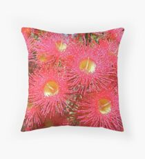 Gum Blossom. Throw Pillow