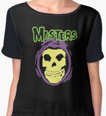 Masters Misfits Skeletor Mash Up Chiffon Top