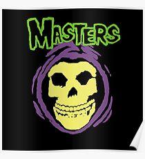 Masters Misfits Skeletor Mash Up Poster