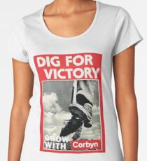 Dig For Victory - Grow With Corbyn Women's Premium T-Shirt