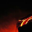 lava pour ~ goddess pele by Lisa Hildwine