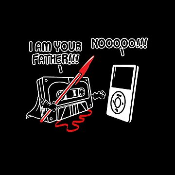 I Am Your Father Tape Ipod by overstyle