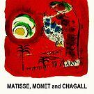 GALERIE DE LA MARINE : Vintage 1967 Art Gallery Advertising Print by posterbobs