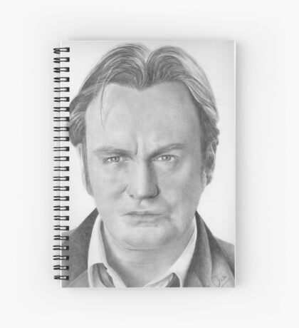Philip Glenister aka Gene Hunt Spiral Notebook