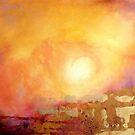 Vortex of light by Valerie Anne Kelly