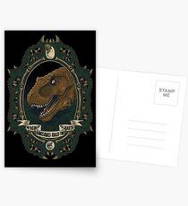 Jurassic Frame Postcards