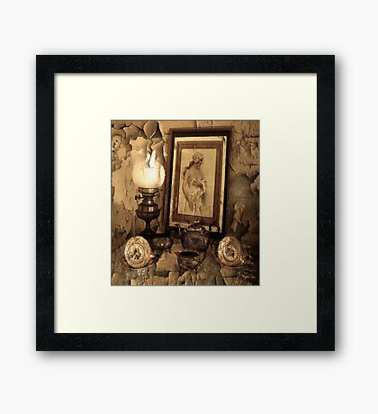 Forgotten Years . Framed Print