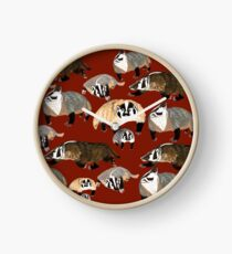 Western American Badger Reloj