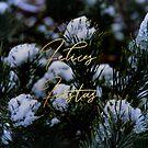 «Felices Fiestas (Tarjeta de felicitación)» de GemAysh