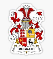 McGrath Coat of Arms - Family Crest Shirt Sticker
