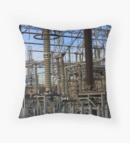 Visual noise Throw Pillow