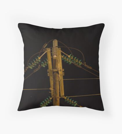 A lovely shade of green Throw Pillow