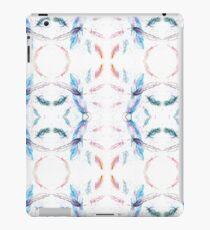 Watercolor Feathers Pattern iPad Case/Skin