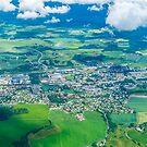 Aerial photography of Rural Norway  by PhotoStock-Isra