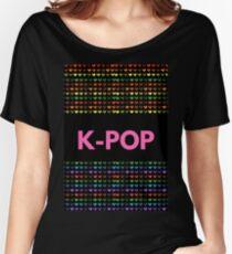 K-Pop - Kpop - Herzen Loose Fit T-Shirt