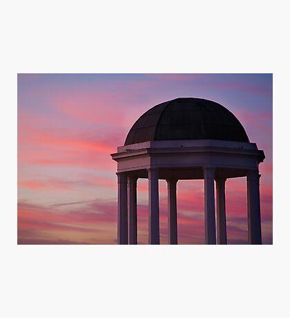 Stawell Lookout Pavilion,Dusk Photographic Print