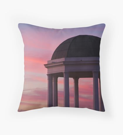 Stawell Lookout Pavilion,Dusk Throw Pillow