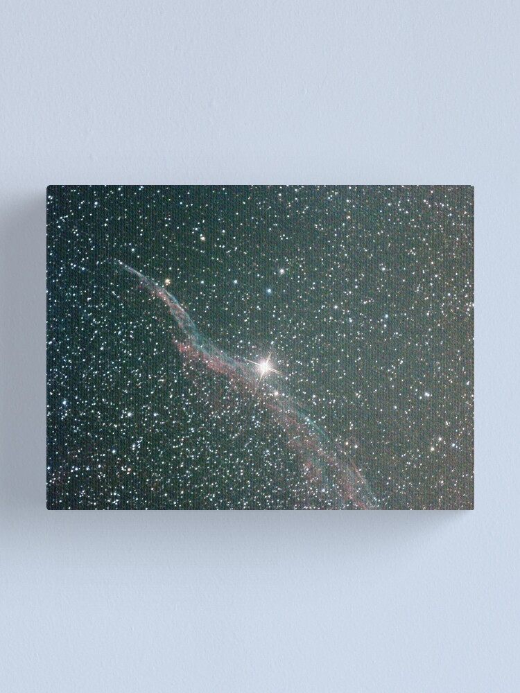 Alternate view of witches broom nebula NGC6960 Canvas Print
