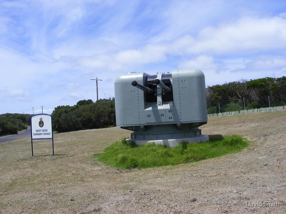 West head gunnery range. by David Smith