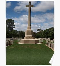West Tce AIF Cemetery Poster