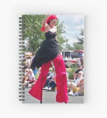 Chick on a Stick! Spiral Notebook