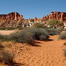 Rainbow Valley, Northern Territory by Joe Mortelliti