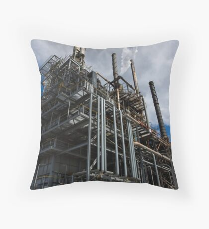 Letting off steam Throw Pillow