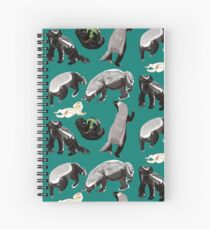 Ratel Honey Badger Cuaderno de espiral